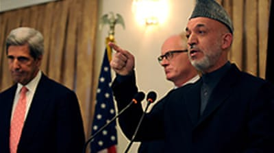 Is Karzai losing US support?