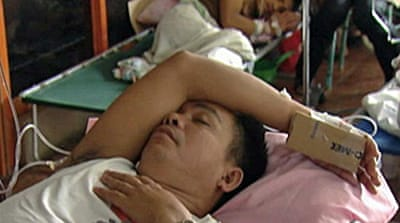 Video: Diseases stalk Philippines
