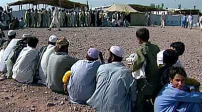Video: Refugees flee S Waziristan