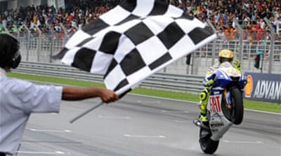 Rossi crowned world champion