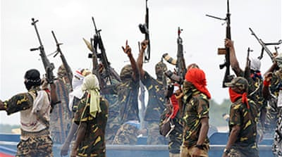 Nigeria rebels announce ceasefire