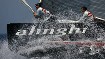 Alinghi offer Australia for Cup