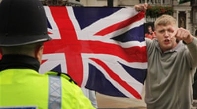 UK counter terrorism aids far-right