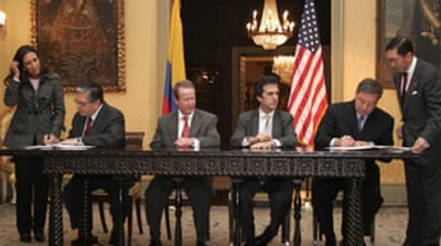 US-Colombia pact 'unconstitutional'