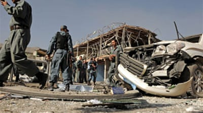 Afghan blast targets Indian embassy