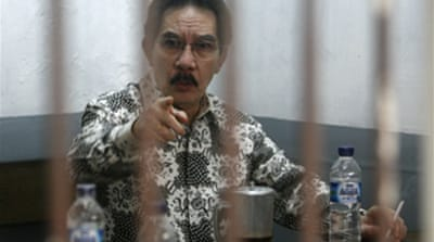 Indonesia anti-graft boss on trial