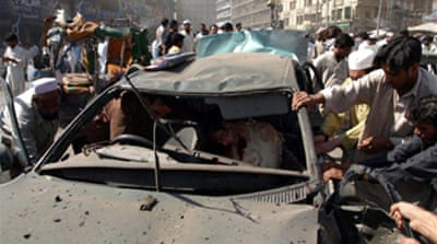 Scores killed in Pakistan blast