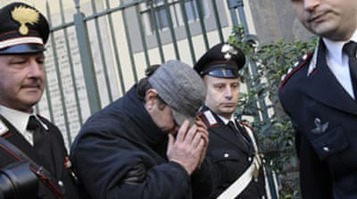 Italian mafia chief arrested