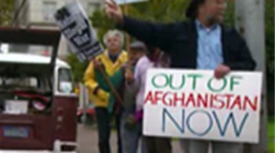 Eight-year vigil damns Afghan war
