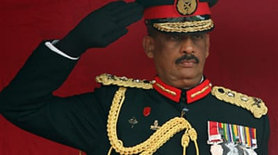 Sri Lankan defence chief 'resigns'