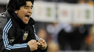 Maradona names World Cup squad