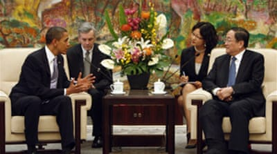 Obama looks to reset China ties