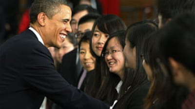 Obama reaches out to China