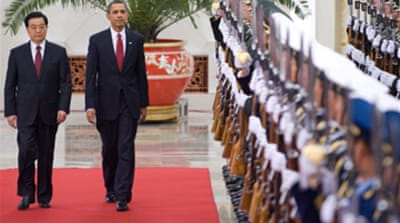 Yuan in focus as Obama meets Hu