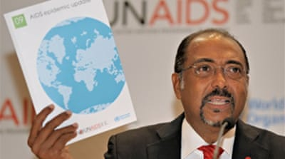 UN report marks spread of Aids