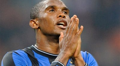 Eto'o key as Barca face exit