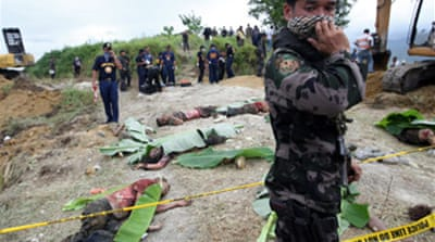 Toll rises in Philippines massacre