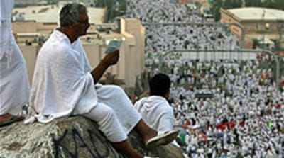 Pilgrims perform key Hajj rite