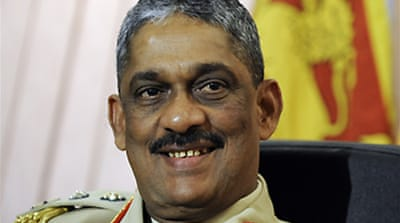 US 'to question' S Lanka army chief