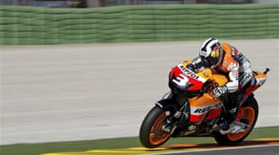 Pedrosa ends season with win