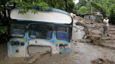 Floods ravage storm-hit El Salvador