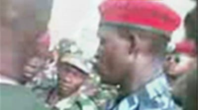 Guinea military round up suspects