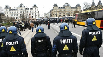 Arrests ahead of Copenhagen protest