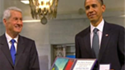Obama's 'just war' and Nobel prize