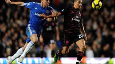Chelsea held by battling Everton