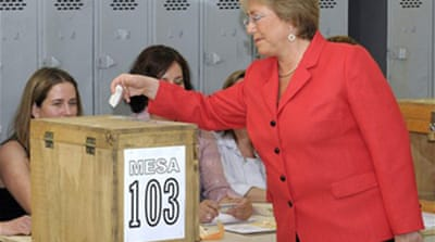 Chileans voting for new president