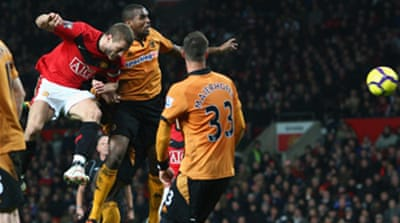 Utd beat Wolves in sheep's clothing