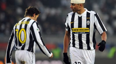 Late goal heaps misery on Juve