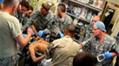 US combat medics face tough choices