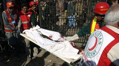 Deaths in Peshawar press club blast