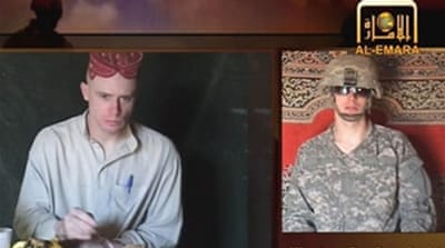Missing US soldier in Taliban video