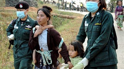 Thai army deports Hmong refugees