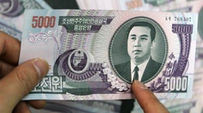 N Korea cash switch 'sparks panic'