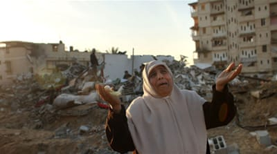 Displaced and desperate in Gaza