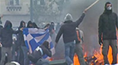 Athens chaos marks teenager's death
