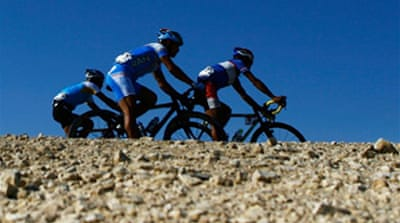 Le Tour's desert dreams