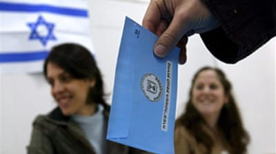 'High' turnout in Israeli election