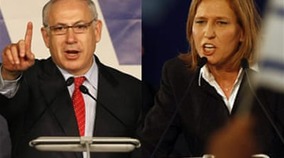 Rival Israeli parties claim victory
