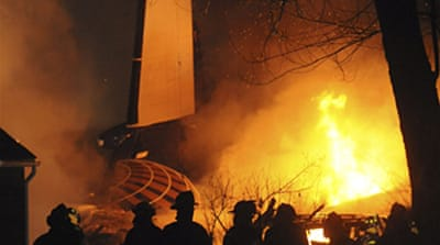 Scores dead in New York air crash