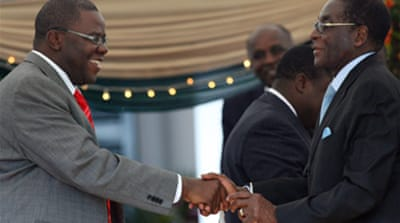 Zimbabwe cabinet sworn in