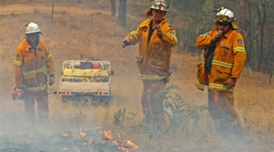 Man charged with bushfire arson