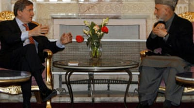 Karzai meets US envoy amid tension