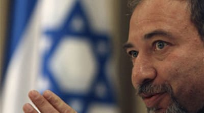 Israel's Lieberman backs Netanyahu