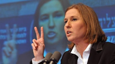 Livni vows tough line on Hamas