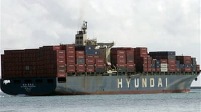S Korea exports dive at record rate
