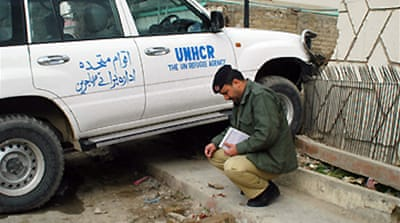UN official abducted in Pakistan